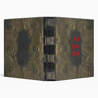Image of Vintage, Distressed Book Cover Binder