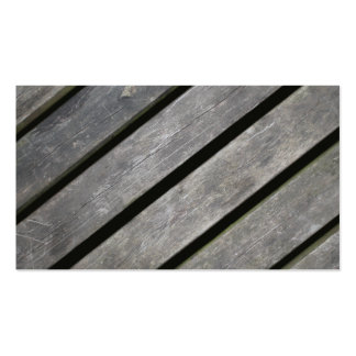 Image of Weathered Planks of Wood Business Card