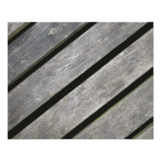 Image of Weathered Planks of Wood Flyer