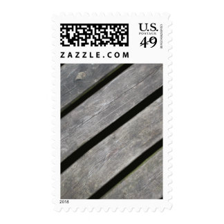 Image of Weathered Planks of Wood Stamps