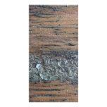 Image of Woodgrain and Varnish. Customized Photo Card