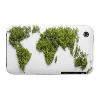image of world map iPhone 3 cover
