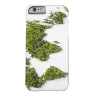 image of world map barely there iPhone 6 case