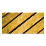 Image of Yellow Wood. Customized Photo Card
