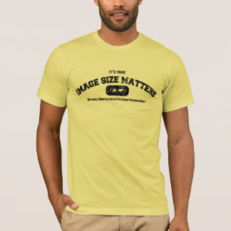 Image Size Matters T-shirt from NAPP