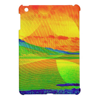 image Sunset abstractly iPad Mini Covers