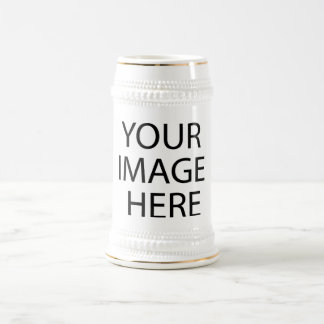 Image Text, Logo, Customize, Design, Make Your Own Beer Stein
