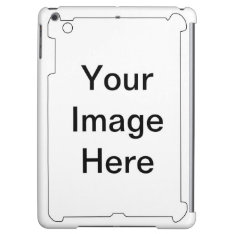 Image Text, Logo, Customize, Design, Make Your Own Case For Ipad Air at Zazzle