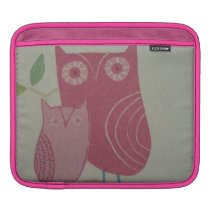 image with owls sleeve for iPads