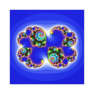 imagem abestrato azul stretched canvas prints