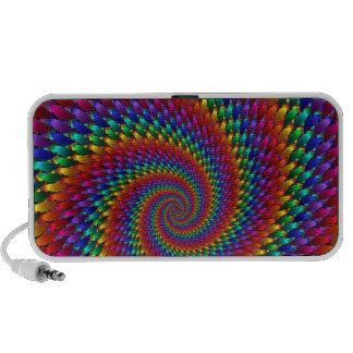 imagem abtrato em espiral portable speaker