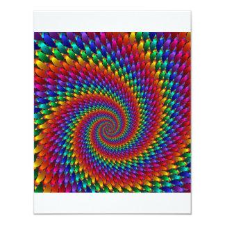 imagem abtrato espiral card