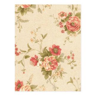 imagem com rosas postcard
