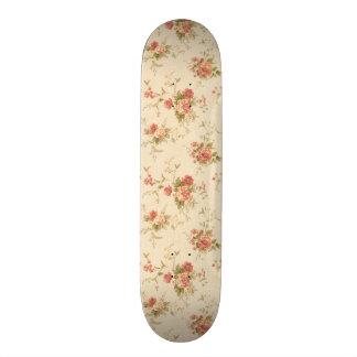 imagem com rosas skate decks