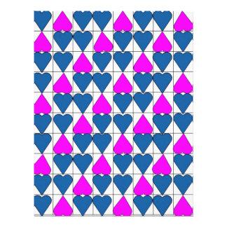 imagem de corações flyer