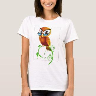imagem de coruja T-Shirt