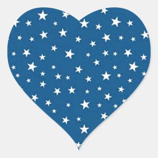 imagem de estrelinhas heart sticker