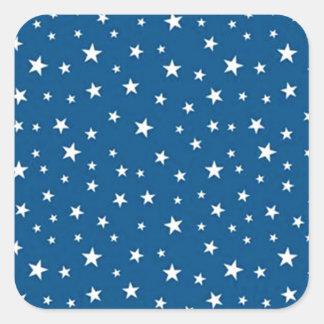 imagem de estrelinhas square sticker