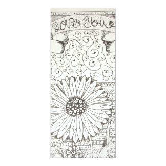 imagem de flor card
