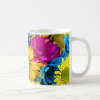 imagem de flores coffee mug