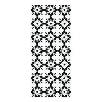 imagem de flores em forma de estrela card