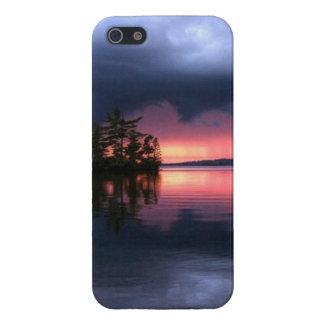 imagem de mar e nyvens cover for iPhone SE/5/5s