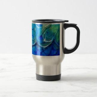 imagem de mar travel mug