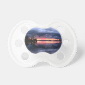 imagem de nuvens e mar pacifier