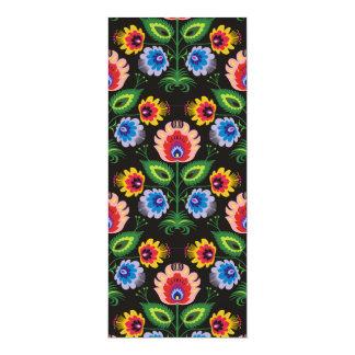imagem de painel floral card