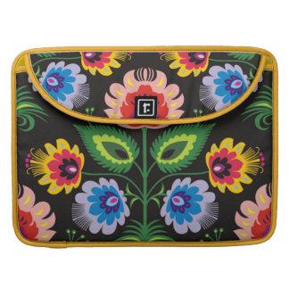 imagem de painel floral funda para macbooks