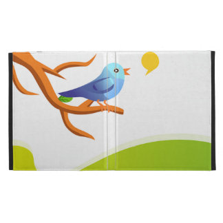 imagem de passarinho iPad case
