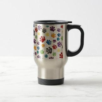 imagem de patinhas tazas de café