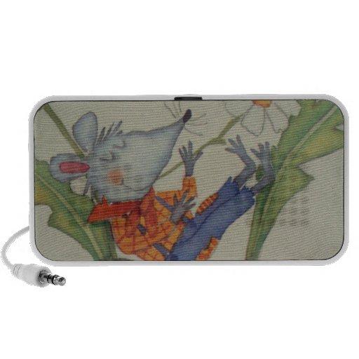 imagem de um ratinho caixinhas de som de viagem