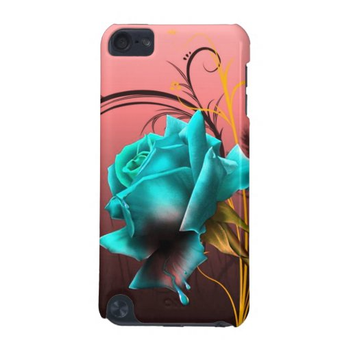 imagem de uma rosa carcasa para iPod touch 5