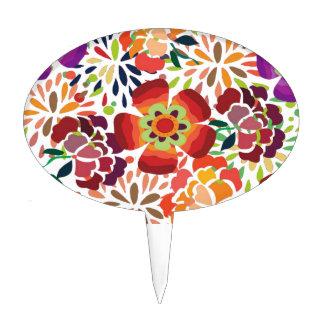 imagem floral decoraciones para tartas