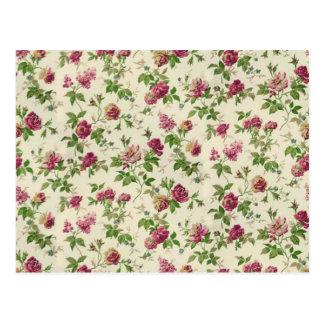 imagem floral linda postcard
