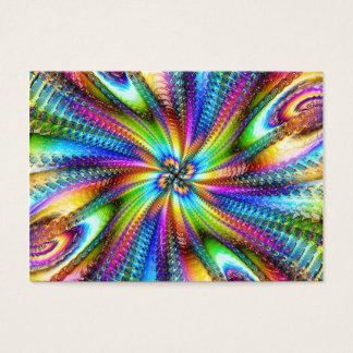 imagem florescente business card