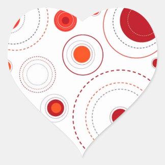 imagem formas geometricas heart sticker