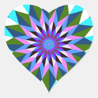 imagem geiometrica heart sticker