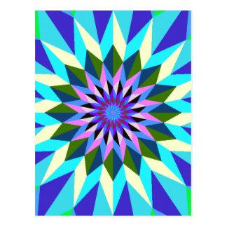 imagem geiometrica postcard