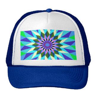 imagem geiometrica trucker hat