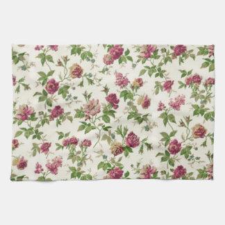 imagem linda floral toalla de mano