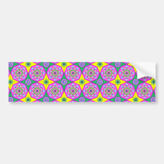 imagem tipo moisaico bumper sticker