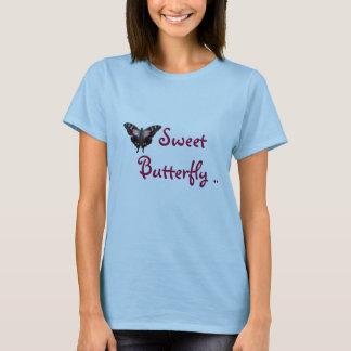 Imagen 003, mariposa dulce. playera