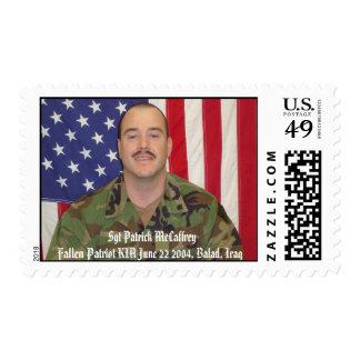 Imagen 017, Sgt Patrick Patri caido McCaffrey… Sellos