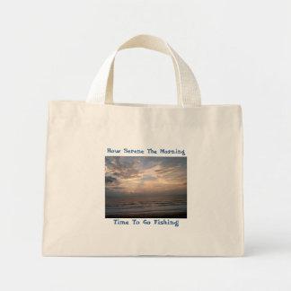 Imagen 020, cómo es sereno la mañana, hora de ir… bolsa tela pequeña