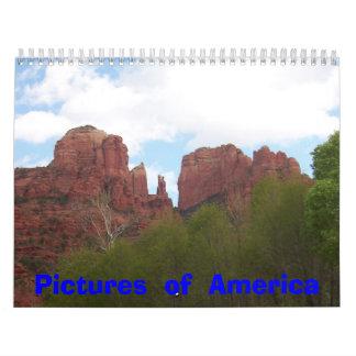 Imagen 047, imágenes de América Calendarios De Pared