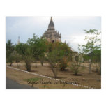 Imagen 055, pagoda de Bagan en Myanmar Postal