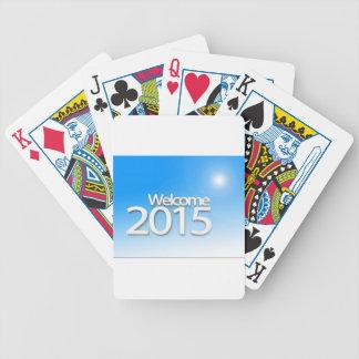Imagen 2015 del Año Nuevo Barajas De Cartas