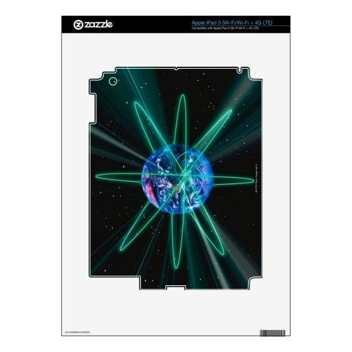 Imagen 7 del espacio pegatinas skins para iPad 3